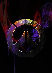 Картина GeekLand Overwatch Овервотч логотип 40х60см OW.09.055