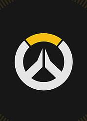 Картина GeekLand Overwatch Овервотч логотип 40х60см OW.09.056