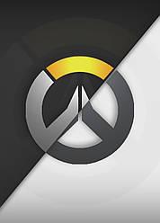 Картина GeekLand Overwatch Овервотч логотип 40х60см OW.09.148
