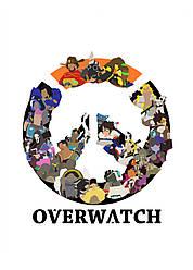 Картина GeekLand Overwatch Овервотч логотип 40х60см OW.09.149