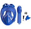Маска для снорклінга з диханням через ніс дитяча PL-1294 (XS) 8-12р., фото 2