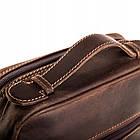 Чоловіча шкіряна сумка Betlewski 23 х 26 х 8 (TBG-HT-100) - коричнева, фото 5