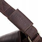 Чоловіча шкіряна сумка BETLEWSKI 21 х 27 х 12 (TBG-YM-107) - коричневий, фото 4