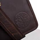 Чоловіча шкіряна сумка BETLEWSKI 21 х 27 х 12 (TBG-YM-107) - коричневий, фото 6