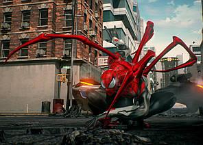 Картина GeekLand Spider-Man Человек-паук альтернативный костюм 60х40см SM.09.084