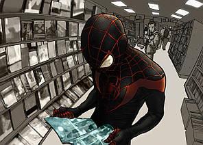 Картина GeekLand Spider-Man Человек-паук альтернативный костюм 60х40см SM.09.086