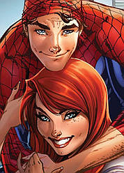 Картина GeekLand Spider-Man Человек-паук и Мери Джейн 40х60см SM.09.113