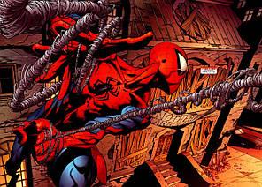 Картина GeekLand Spider-Man Человек-паук комикс 60х40см SM.09.039