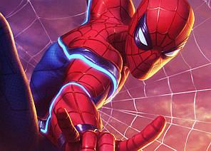 Картина GeekLand Spider-Man Человек-паук комикс 60х40см SM.09.042