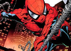 Картина GeekLand Spider-Man Человек-паук комикс 60х40см SM.09.043