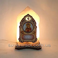 Соляной светильник Икона маленькая Семистрельная