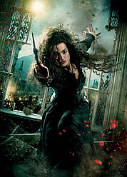 Картина GeekLand Harry Potter Гарри Поттер Белатриса 40х60 HP 09.031