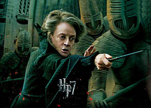 Картина GeekLand Harry Potter Гарри Поттер Макгонагалл 60х40 HP 09.009