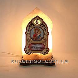 Соляной светильник Икона маленькая Смоленская