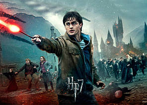 Картина GeekLand Harry Potter Гарри Поттер постер 60х40 HP 09.007