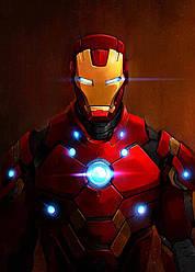 Картина GeekLand Iron Man Железный Человек комик арт 40х60см IM.09.086