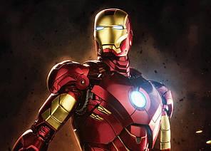 Картина GeekLand Iron Man Железный Человек комикс арт 60х40см IM.09.014