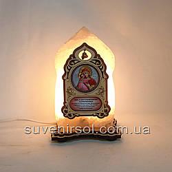 Соляной светильник Икона маленькая Владимирская