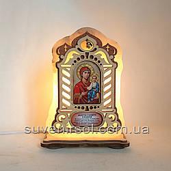 Соляний світильник Ікона велика Смоленська