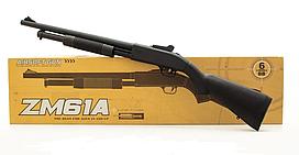 Игрушечный Дробовик винтовка металлический на пульках ZM61A