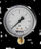 """Watts"" Манометр MDR 63/25, 1/4' радиальный (нижний выход)"
