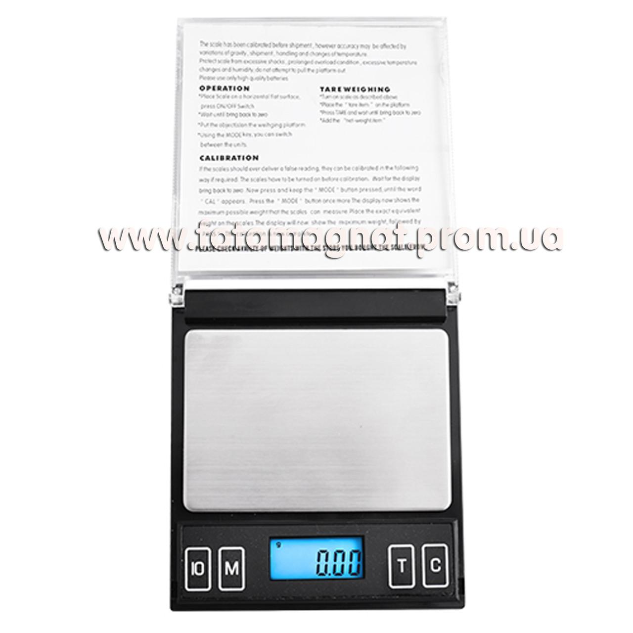 Весы ювелирные SF 100/6251/Mini-CD 500g  0.1  (карманные весы)