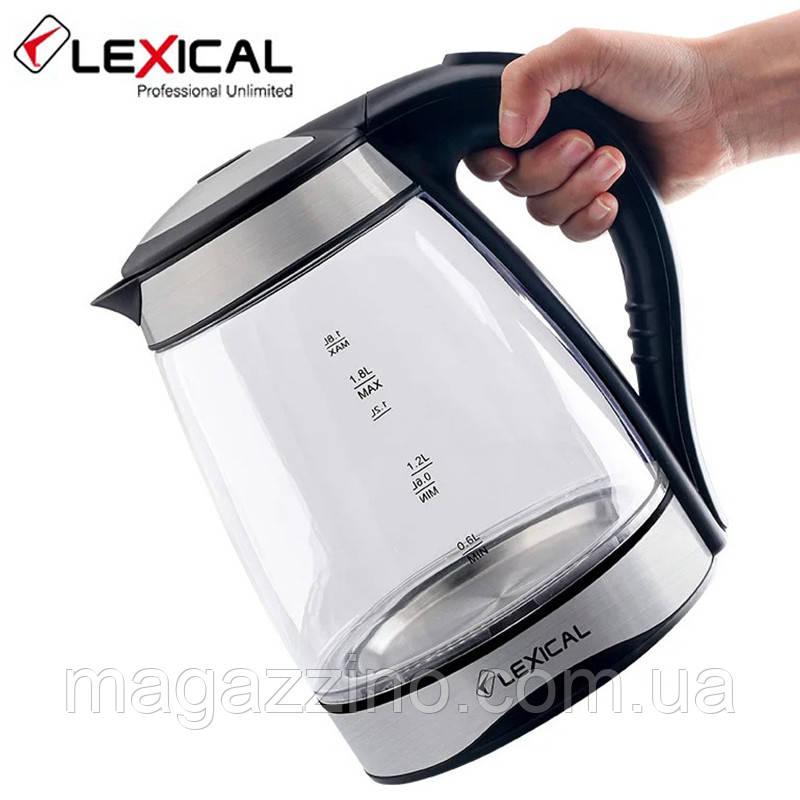 Электрический чайник Lexical LEK-1406, 1.8л, 2200 Вт.
