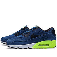 Кроссовки Nike Air Max 90 Night Factor Suede Navy, фото 1