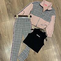 Стильный костюм для девочки 140