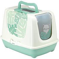Moderna Trendy Cat Eden закритий туалет для котів c вугільним фільтром і совком, дизайн Едем