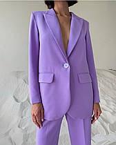 Женский брючный, стильный, классический костюм. Пиджак и брюки.Новинка 2020.