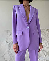 Жіночий брючний, стильний, класичний костюм. Піджак та брюки.Новинка 2020.
