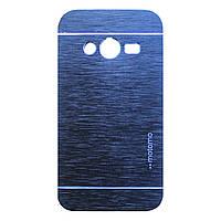 Чохол Motomo Aluminum для Samsung G313 Galaxy Ace 4 Blue