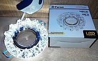 Декоративный встраиваемый светильник с LED  подсветкой Feron CD2542 LED MR-16 (6500K)
