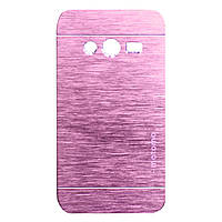 Чохол Motomo Aluminum для Samsung G313 Galaxy Ace 4 Rose