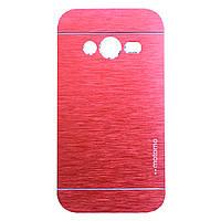 Чехол Motomo Aluminum для Samsung G313 Galaxy Ace 4 Red