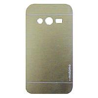 Чохол Motomo Aluminum для Samsung G313 Galaxy Ace 4 Gold