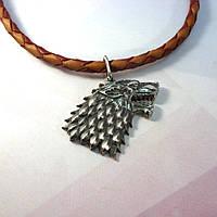 Серебряный кулон Лютоволк (Игра престолов), фото 1