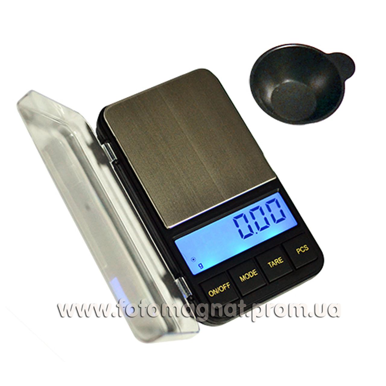 Весы ювелирные 6285PA-300 0,01+ чашка (карманные весы)