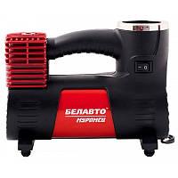 Автомобильный компрессор однопоршневой, для накачки шин колес авто Белавто Муромец 40 л/мин 12В 10Атм R13-R18