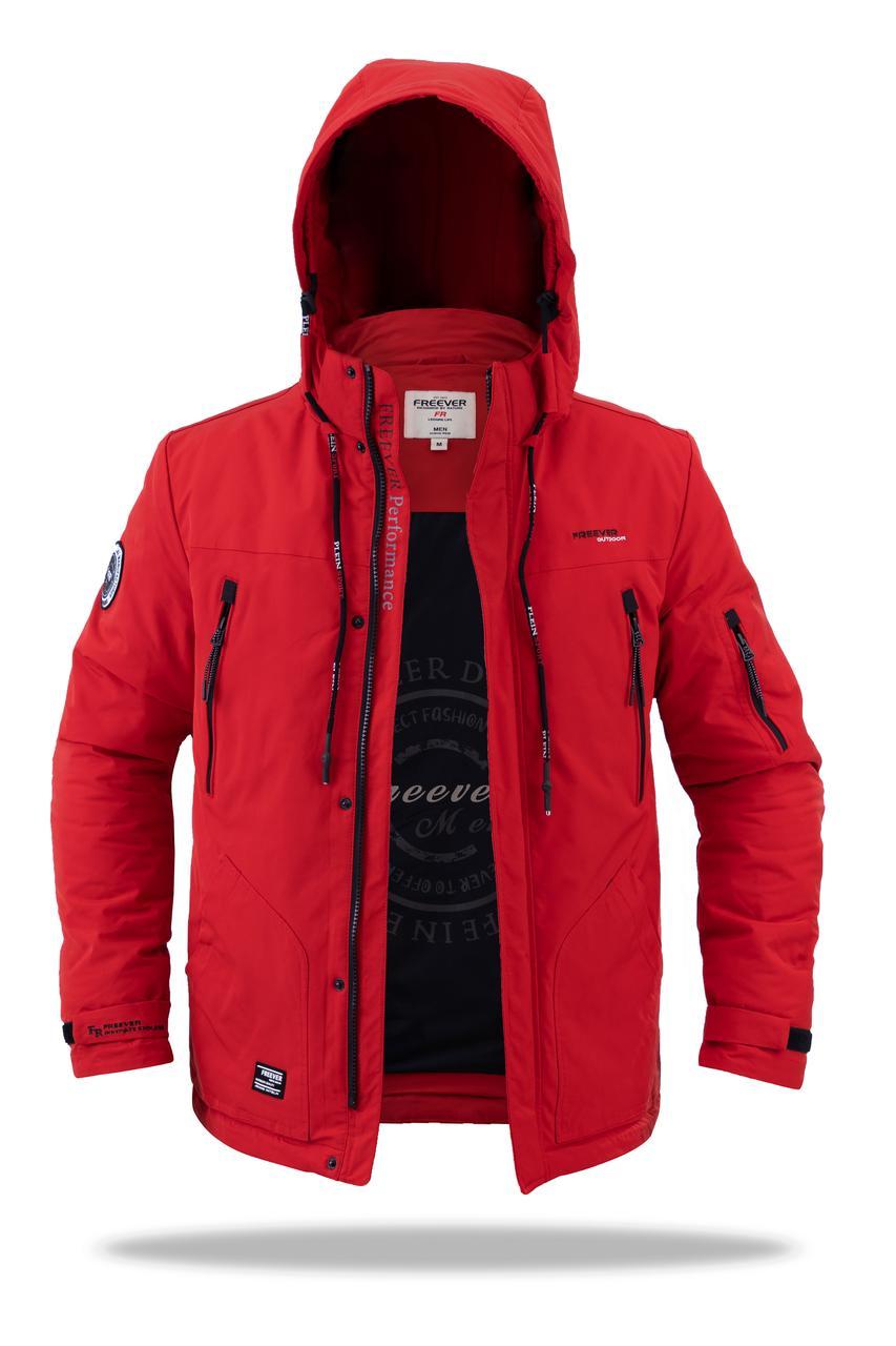 Мужская демисезонная куртка Freever ( red)