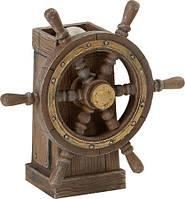 Штурвал корабля деревянный №2