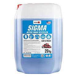 Активная пена автошампунь для мойки самообслуживания NOWAX SIGMA DOSATRON концентрат 20 кг (NX20189)