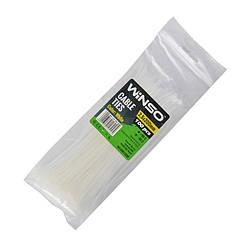 Хомуты Winso пластиковые белые 25x200 мм 100 шт 125200