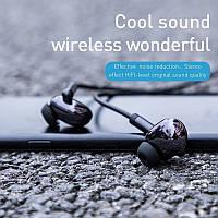 Беспроводные Bluetooth наушники для телефона и смартфона Encok S30. Блютуз гарнитура для мобильного