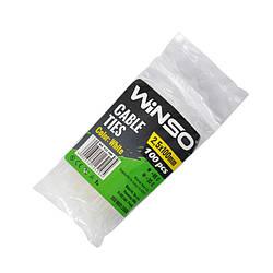Хомуты Winso пластиковые белые 25x100 мм 100 шт 125100