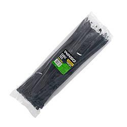 Хомуты Winso пластиковые, черные 76x400 мм 100 шт 276400
