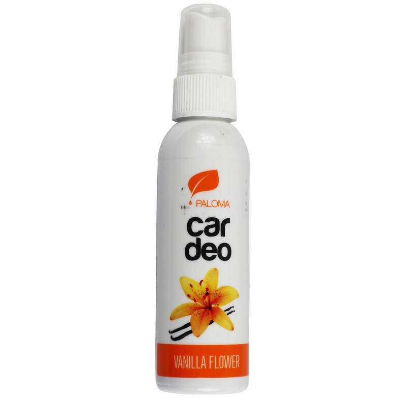Ароматизатор в машину пахучка для авто Paloma Car Deo Spray Vanilla Flower