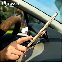 Магнитный держатель для телефона в машину Baseus 360-degree Rotation Magnetic Mount Paste Type (SUGENT-NT0S)