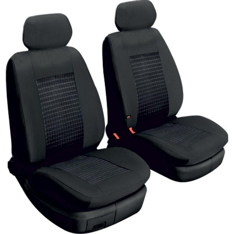 Авточехлы универсальные на передние сиденья машины 2 шт Beltex Comfort без подголовников черные (51210)